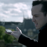 Jim Moriarty staying alive with Sherlock image