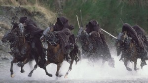 Nazgûl ringwraiths river horses lord of the rings image