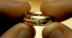 frodo holding one ring lord of the rings image