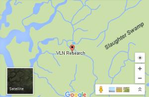 VLN Research location map image vlnresearch.com