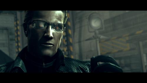 Albert Wesker Resident Evil 5 shades on red eyes