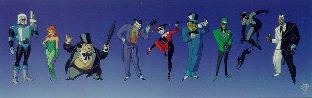 Batman the animated series villains