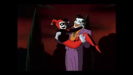 Joker Batman Animated Series and Harley