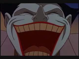 Joker Batman Animated Series big laugh