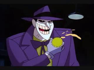 Joker Batman Animated Series flower