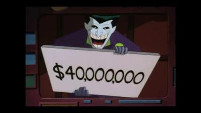 Joker Batman Animated Series ransom