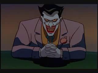 Joker Batman Animated Series scheming
