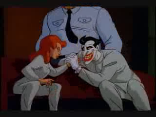 Joker Batman Animated Series vs Poison Ivy