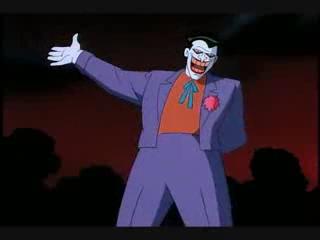 Joker Batman Animated joyful