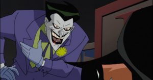 Joker bats down batman the animated series