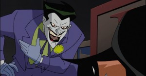 Joker bats down batman the animated series