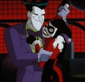 Joker harley down batman the animated series
