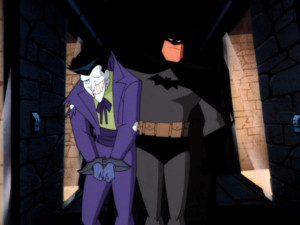 batman catches Joker batman the animated series