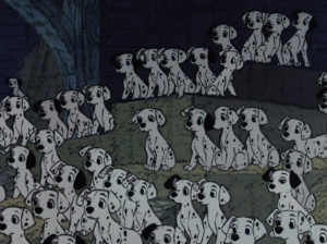 101-Dalmatians puppies