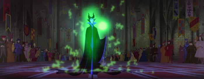 Sleeping Beauty - Maleficent - appears