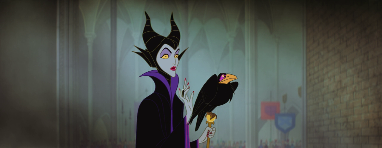 Sleeping Beauty - Maleficent - at christening