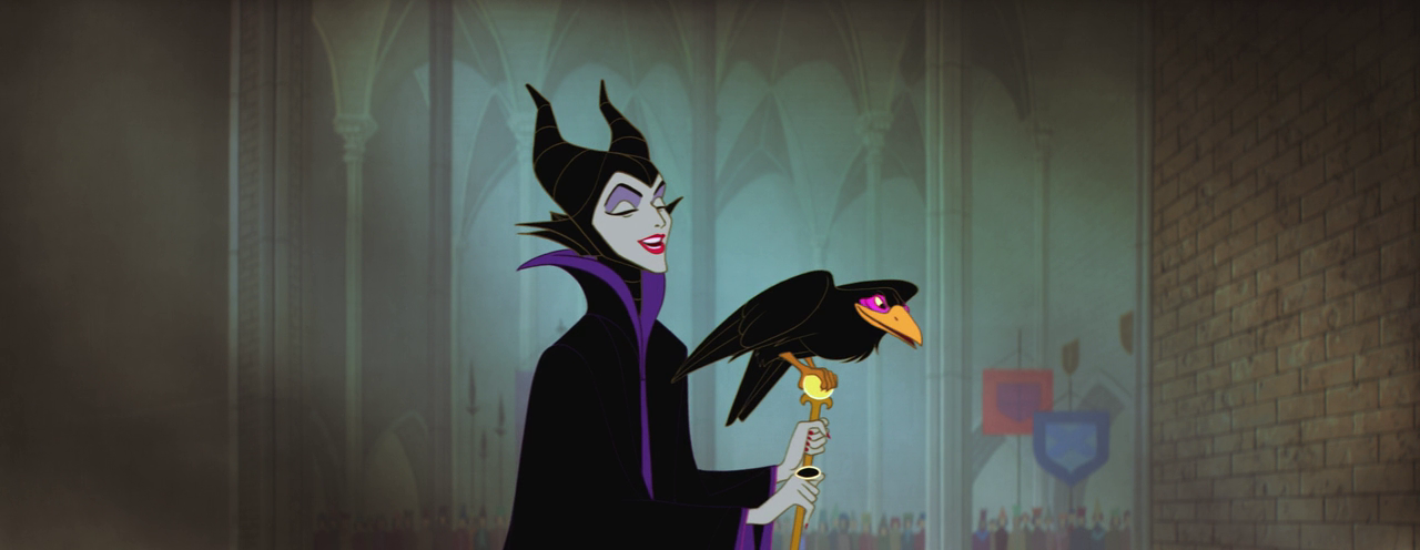 Sleeping Beauty - Maleficent - calm