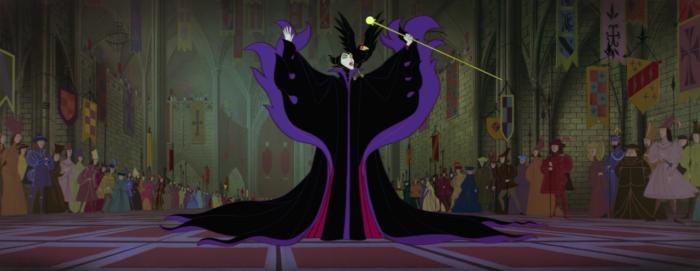 Sleeping Beauty - Maleficent - cape
