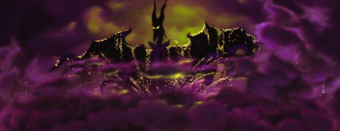 Sleeping Beauty - Maleficent - dragon rising