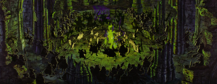 Sleeping Beauty - Maleficent - fire dance