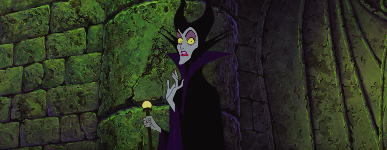 Sleeping Beauty - Maleficent - surrounded by idiots