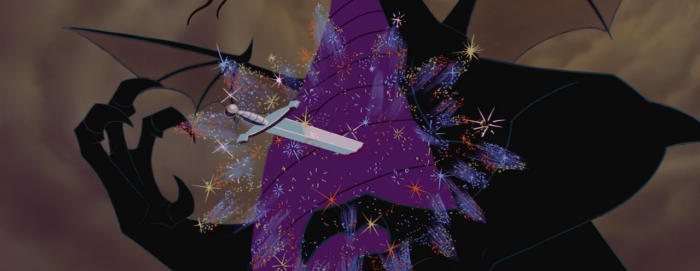Sleeping Beauty - Maleficent - sword in the heart