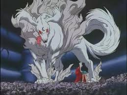 Sesshomaru dog form inuyasha