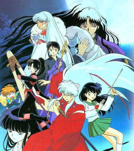 inuyasha group shot fanpop image