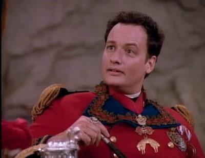 Q Star Trek French uniform