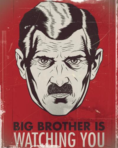 big brother 1984 george orwell
