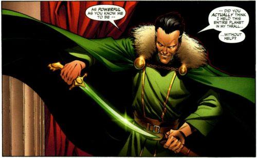 ras al ghul comic sword batman
