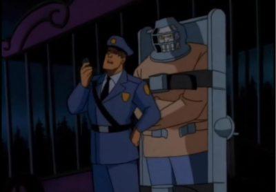 Batman the Animated Series Killer Croc Sideshow captured
