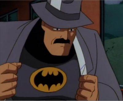 Batman the Animated Series Killer Croc Sideshow reporter Batman