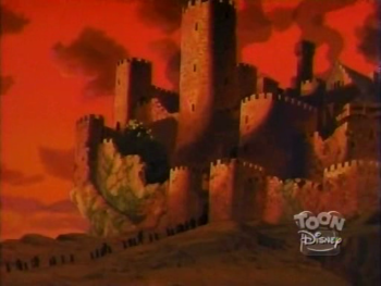 disney-gargoyles-awakening-1-castle-wyvern-taken