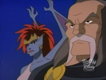 disney-gargoyles-awakening-1-demona-and-captain