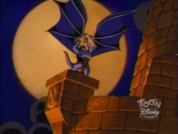 disney-gargoyles-awakening-1-goliath-mourns