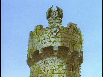 disney-gargoyles-awakening-part-2-image-goliath-in-stone-on-wyvern