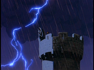 disney-gargoyles-awakening-part-2-image-xanatos-on-tower-with-goliath-and-lightning