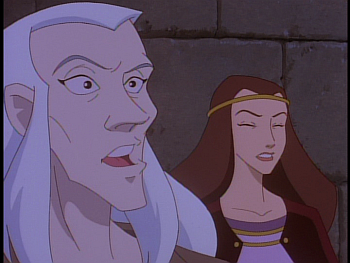 disney-gargoyles-awakening-part-2-magus-and-katherine-shocked-at-goliath