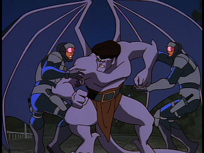 disney-gargoyles-awakening-part-4-goliath-attacks-commandos