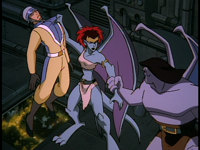 disney-gargoyles-awakening-part-4-demona-and-guards