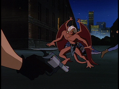 disney-gargoyles-temptation-biker-with-gun