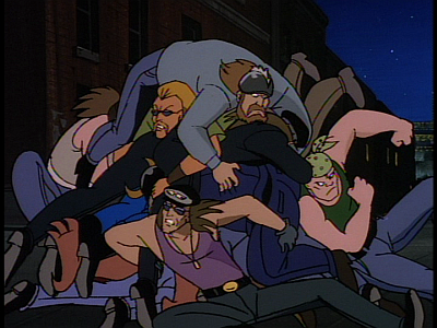 disney-gargoyles-temptation-brooklyn-dog-piled-by-bikers