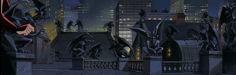 disney-gargoyles-the-thrill-of-the-hunt-stone-gargs-panorama