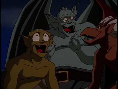 disney-gargoyles-the-thrill-of-the-hunt-trio-happy
