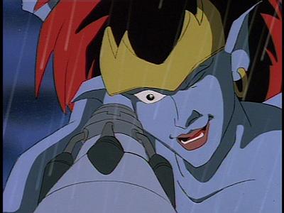 Disney Gargoyles - Long Way To Morning - demona aims