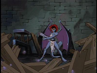 Disney Gargoyles - Long Way To Morning - demona blasting
