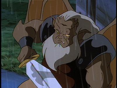 Disney Gargoyles - Long Way To Morning - demona in hudson sword