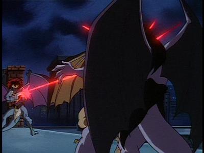 Disney Gargoyles - Long Way To Morning - demona shoots goliath