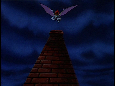 Disney Gargoyles - Long Way To Morning - demona swoops